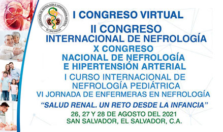 I Congreso Virtual, II Congreso Internacional de Nefrología